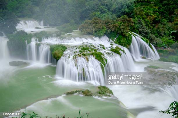 ban gioc waterfall - lancaster county pennsylvania stock pictures, royalty-free photos & images
