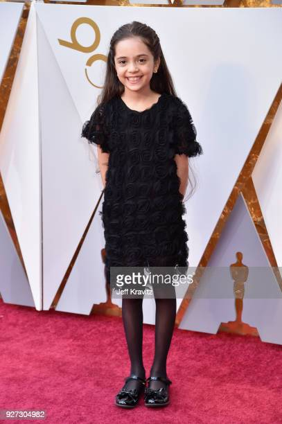 Bana Alabed attends the 90th Annual Academy Awards at Hollywood Highland Center on March 4 2018 in Hollywood California