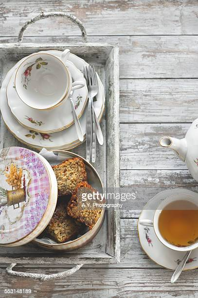 Banana Bread and Tea