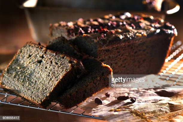 Banana bread baked by Jerrelle Guy is pictured in the kitchen of her apartment in the Fenway neighborhood of Boston on Feb 13 2018 Guy in the author...