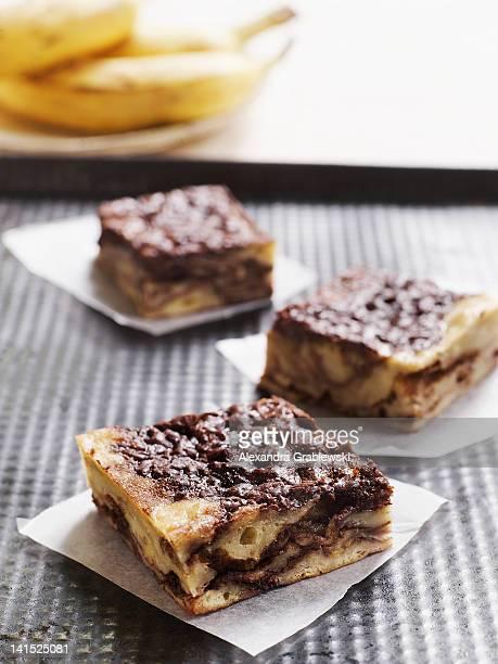 Banana Bread Cake Squares