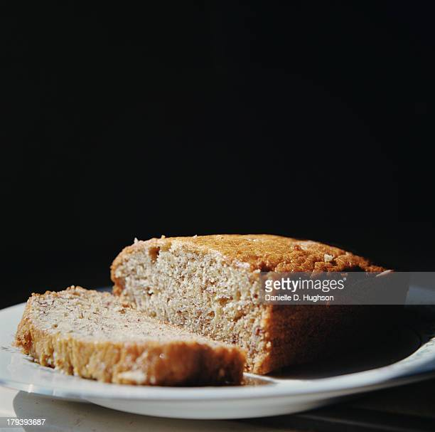 Banana Bread On Plate