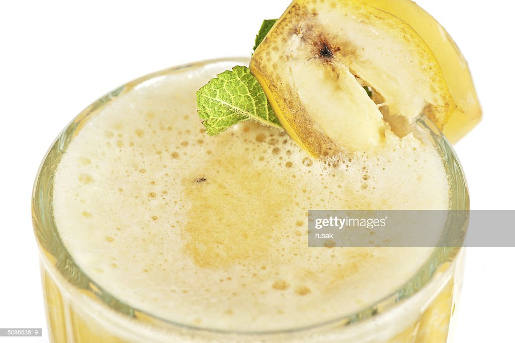 banana cocktail : Stock Photo
