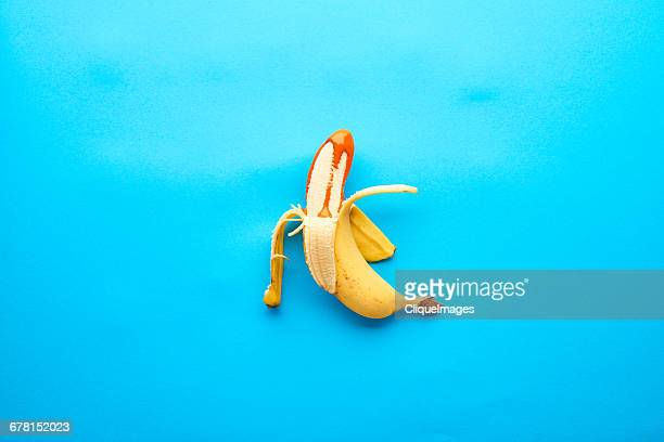 Banana in paint