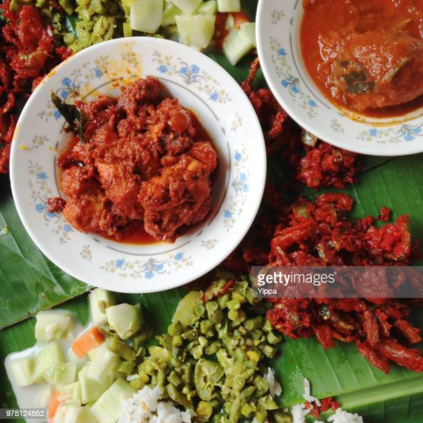 Banana Leaf Rice Indian Food