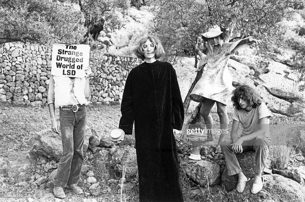 El programa de Ariel Banana-moon-band-groupe-de-rock-psychedelique-daevid-allen-gilli-picture-id578338120