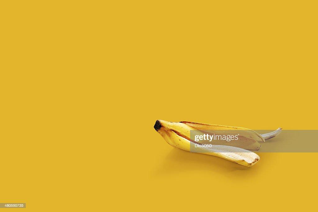Piel de plátano : Foto de stock