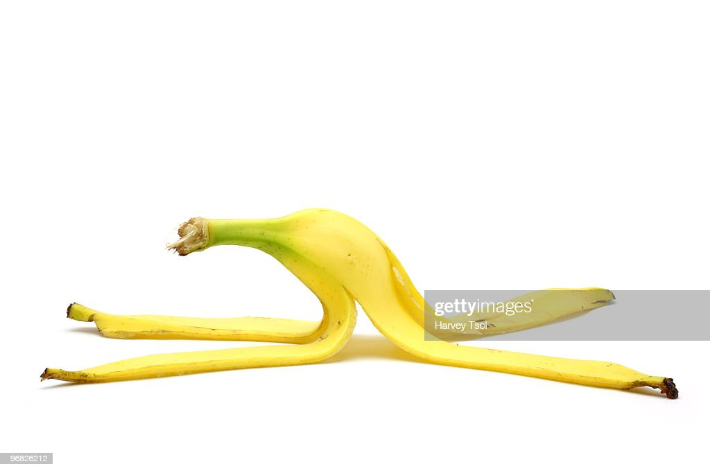 Banana Peel : Stock Photo