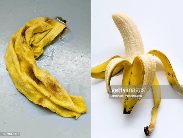 banana - 剥いた ストックフォトと画像