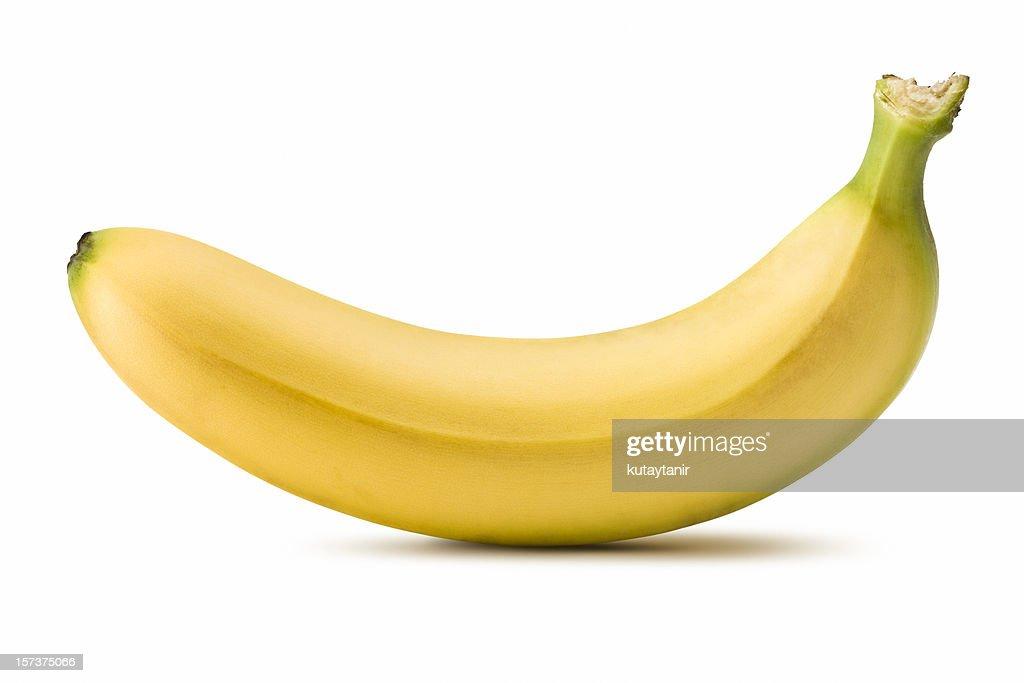 Banana (Clipping Path) : Bildbanksbilder