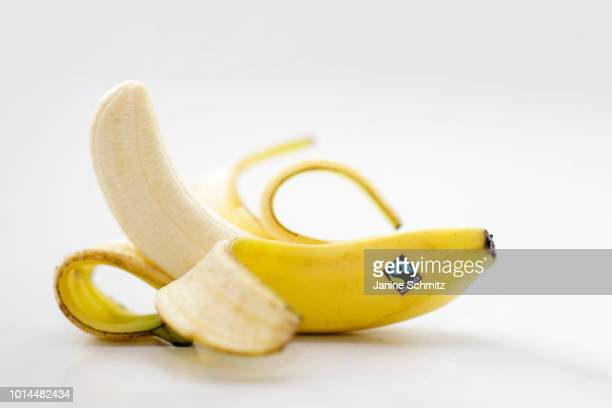 A banana with a fairtrade sticker on August 08 2018 in Berlin Germany