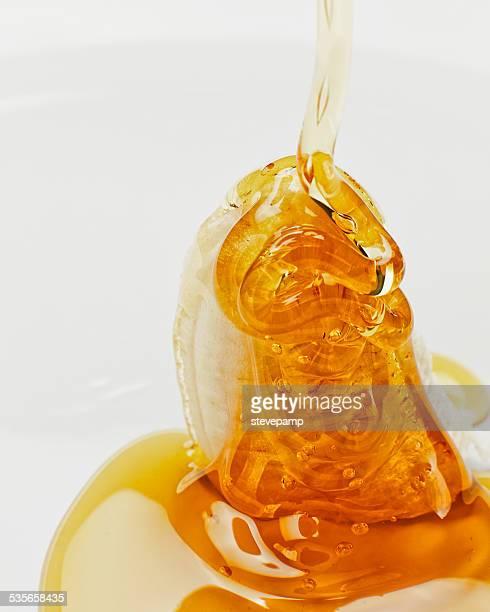 Banana with honey