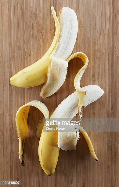 Bananas on a Cutting Board