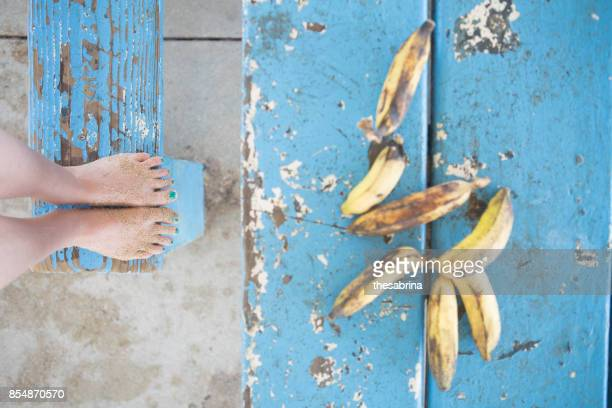 Bananas on a Table