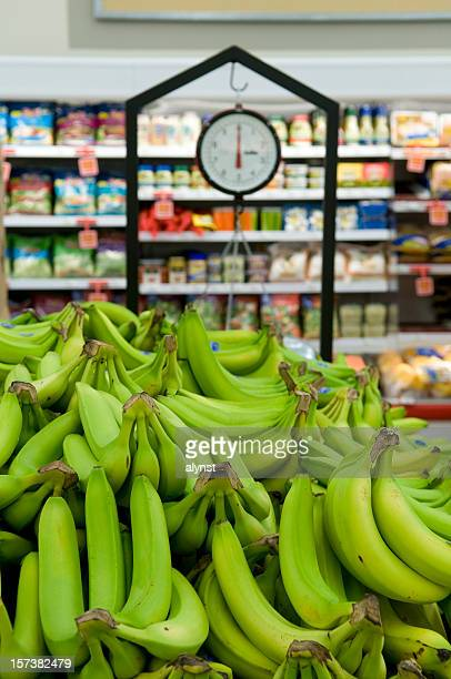 bananas - unripe stock photos and pictures
