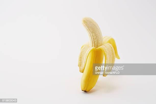 bananas - 剥いた ストックフォトと画像