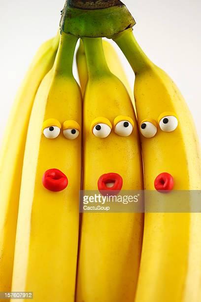 Bananas portrait