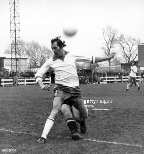 Banbury United v Barnet 19th November 1972 Tony Jacques Banbury Footballer in action