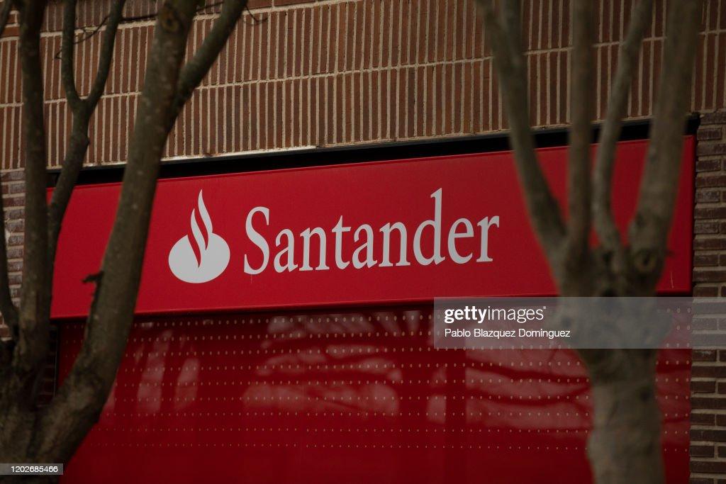 Santander Bank Results : News Photo