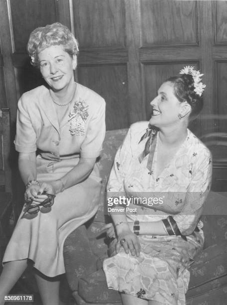 Bancroft Caroline Guests at a Central City party given recently were Mrs Jerry Vasconcells and Miss Caroline Bancroft Credit The Denver Post