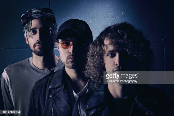 Band Cheat Codes is photographed for Rogue Magazine on September 12 2017 in Los Angeles California PUBLISHED IMAGE
