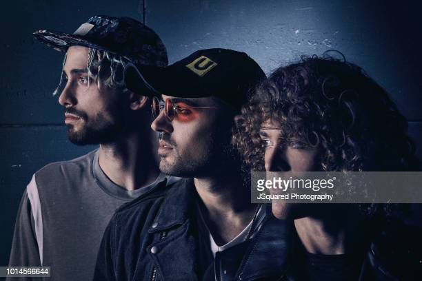 Band Cheat Codes is photographed for Rogue Magazine on September 12 2017 in Los Angeles California