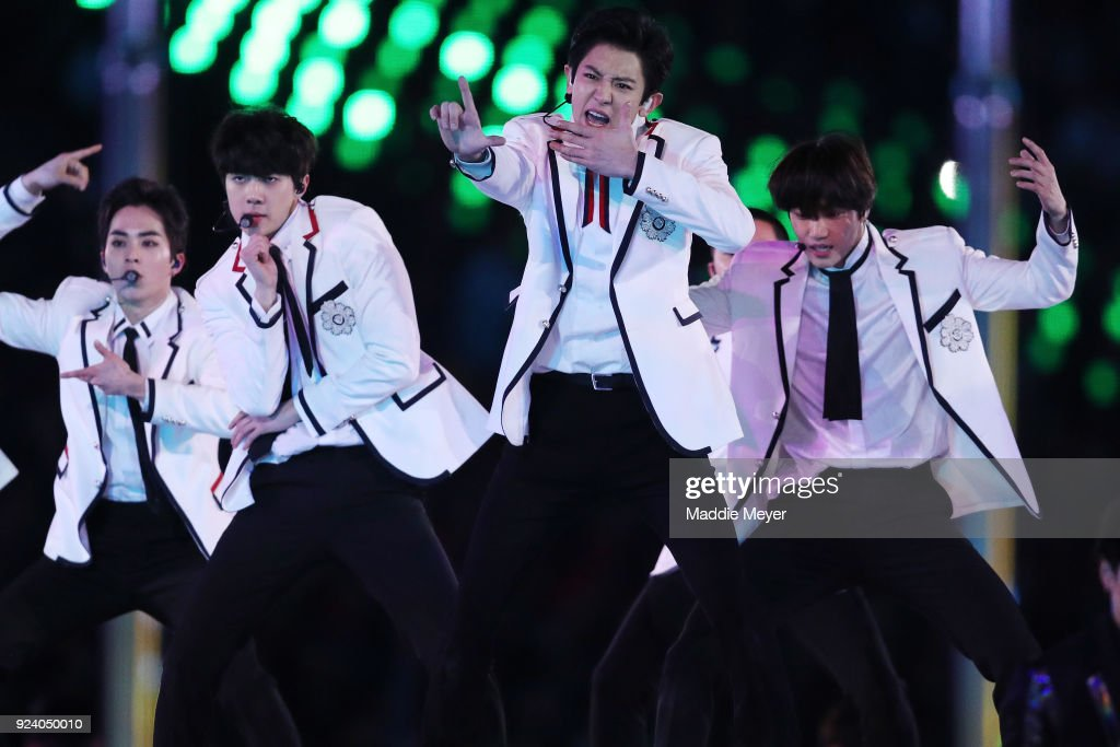 2018 Winter Olympic Games - Closing Ceremony : News Photo