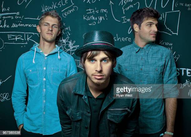 Band Foster the People are photographed for Guttersnipe Magazine in May 2011 in Vancouver British Columbia PUBLISHED IMAGE