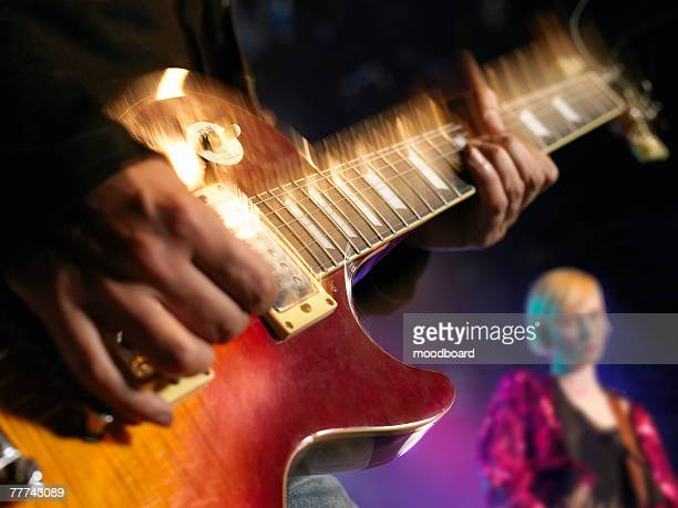 band in concert - pop music stock pictures, royalty-free photos & images