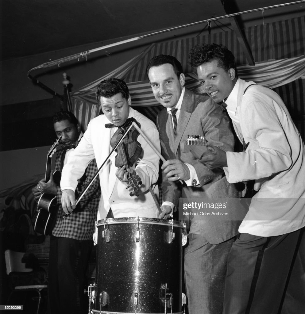 Bandleader With Don & Dewey : News Photo