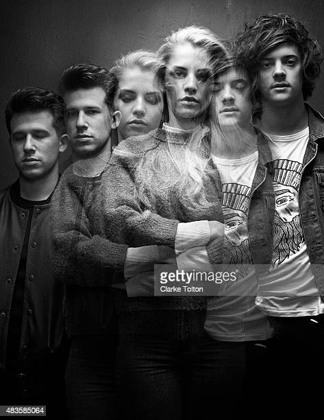 Band London Grammar is photographed for Nylon Magazine on October 5 2013 in New York City PUBLISHED IMAGE