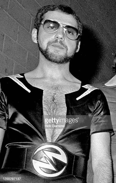 Band member Chuck Panozzo during Z-93 & U.S. Marines Toys for Tots at The OMNI Coliseum in Atlanta Georgia, December 14, 1980 (Photo by Rick...