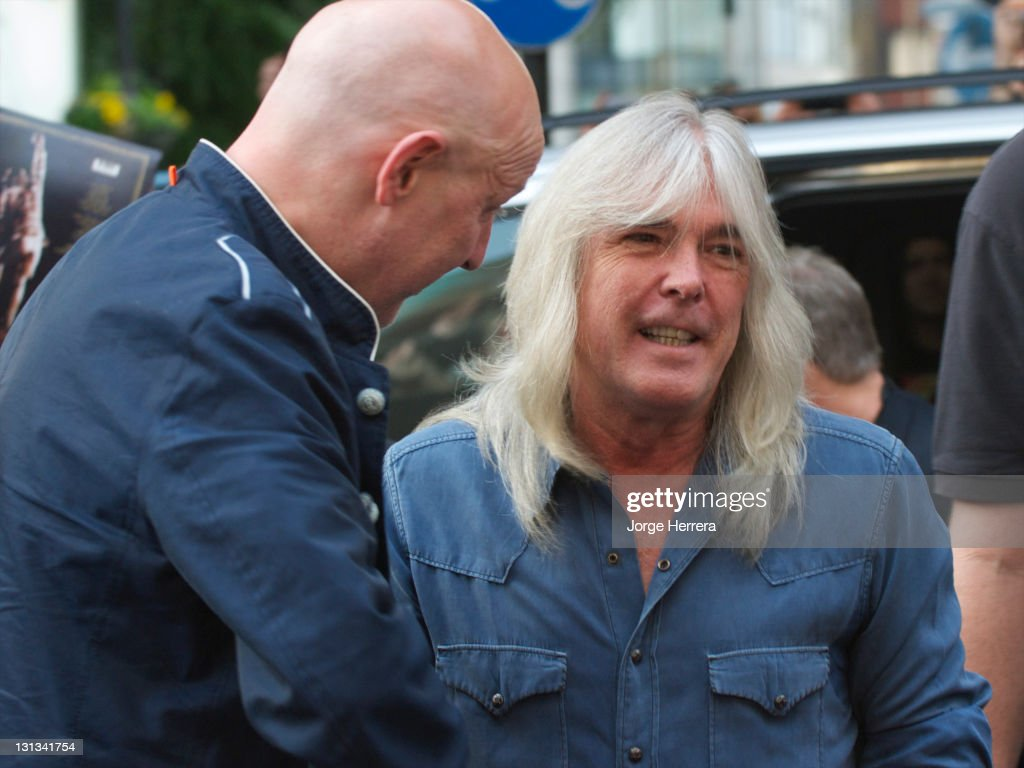 AC/DC band member Cliff Williams attends the Exclusive World Premiere Of AC/DC 'Live At River Plate' Presented By DeLeon Tequila at the HMV Apolo on May 6, 2011 in London, England.