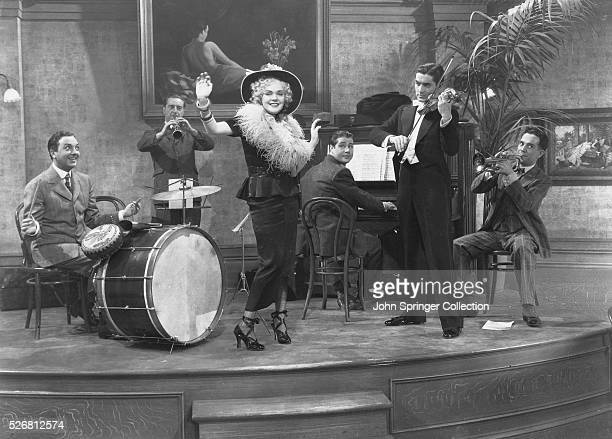 Drummer Davey Lane Snapper on clarinet Singer Stella Kirby Composer and Pianist Charlie Dwyer Violinist Roger Grant and Wally Vernon on trumpet