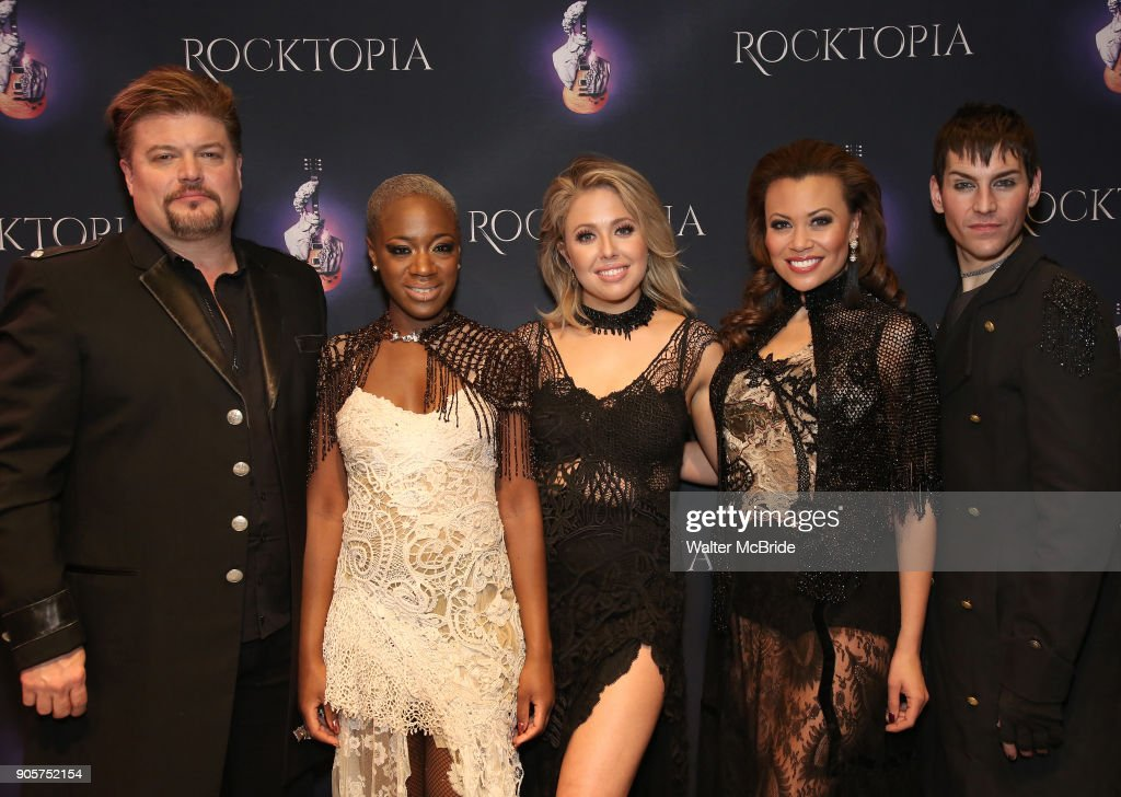 """Rocktopia"" On Broadway Open Rehearsal"