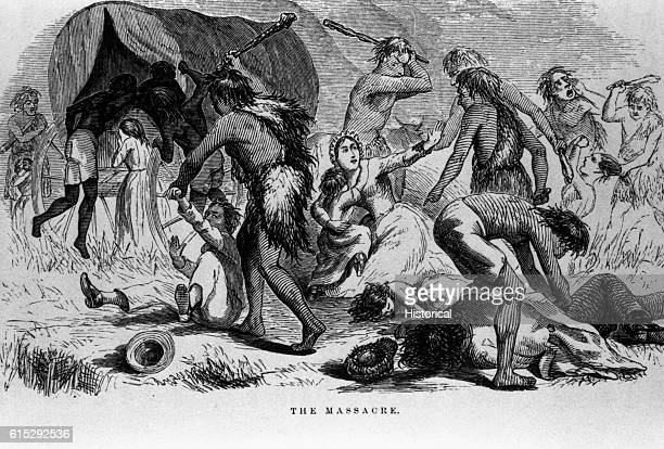 A band of Apaches attack the Oatman family in Arizona in 1851 and took the girls of the family captive