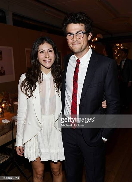 Band of Outsiders Press Marketing Director Nicole Cari and teleivison personality Jacob Soboroff attend the Band of Outsiders dinner party hosted by...