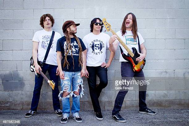 Band OFF is photographed for Los Angeles Times on April 8 2014 in Los Angeles California PUBLISHED IMAGE CREDIT MUST READ Gina Ferazzi/Los Angeles...