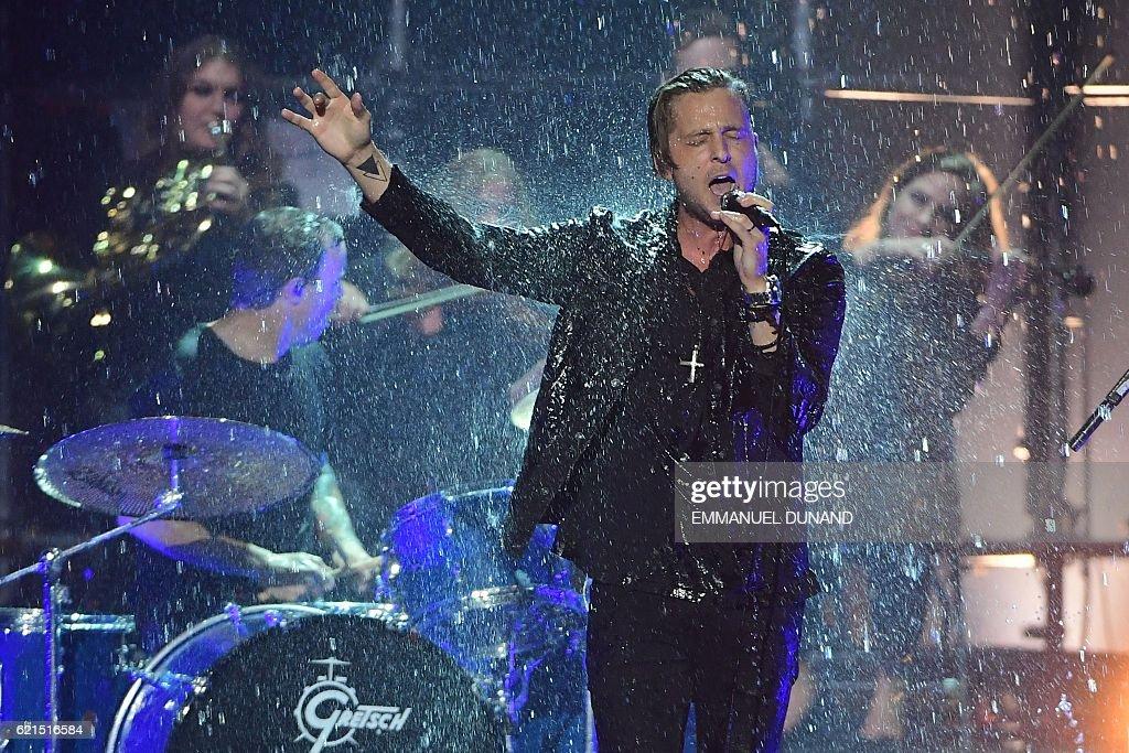 NETHERLANDS-ENTERTAINMENT-MTV-MUSIC-AWARDS-EMA : News Photo