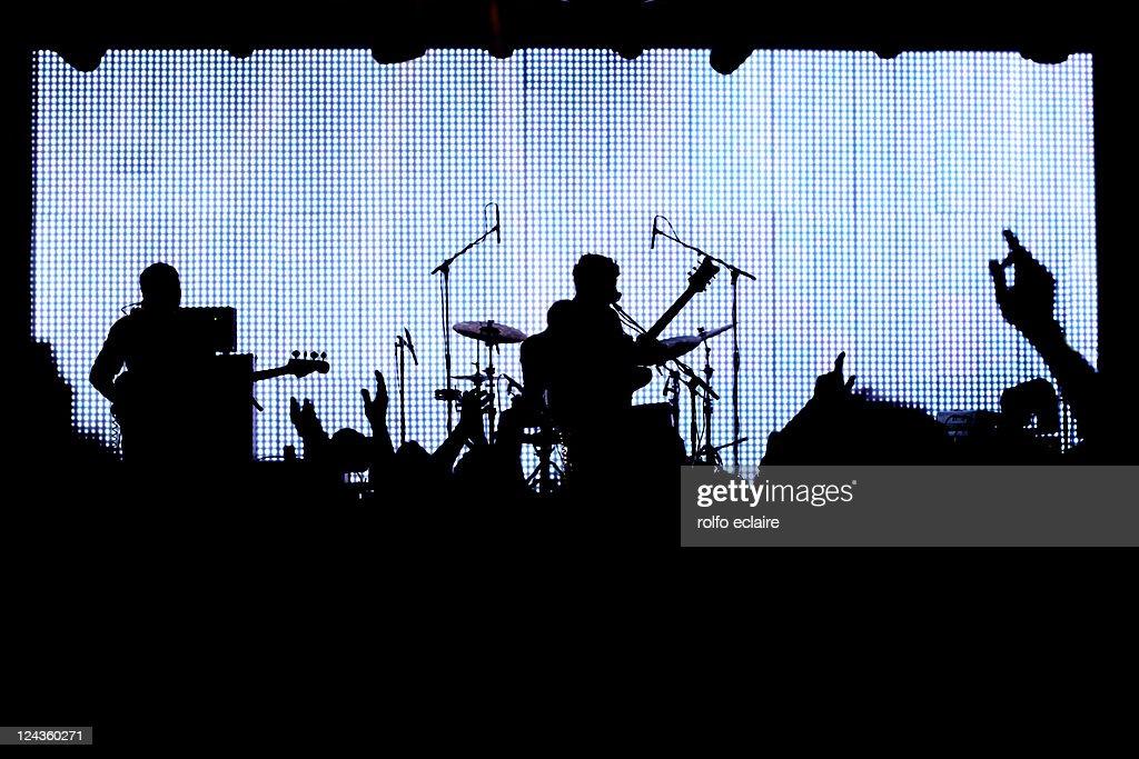 Band : Foto stock