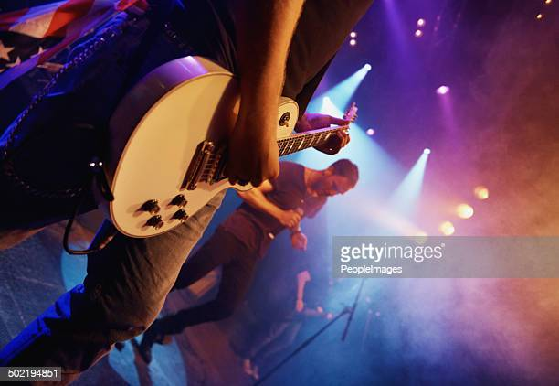 living the dream this band is! - live event stock pictures, royalty-free photos & images