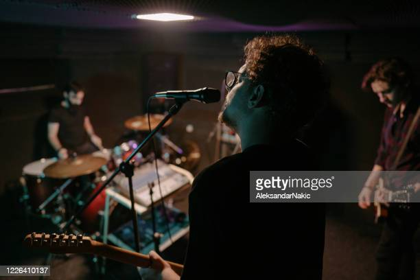 band practice - rehearsal stock pictures, royalty-free photos & images
