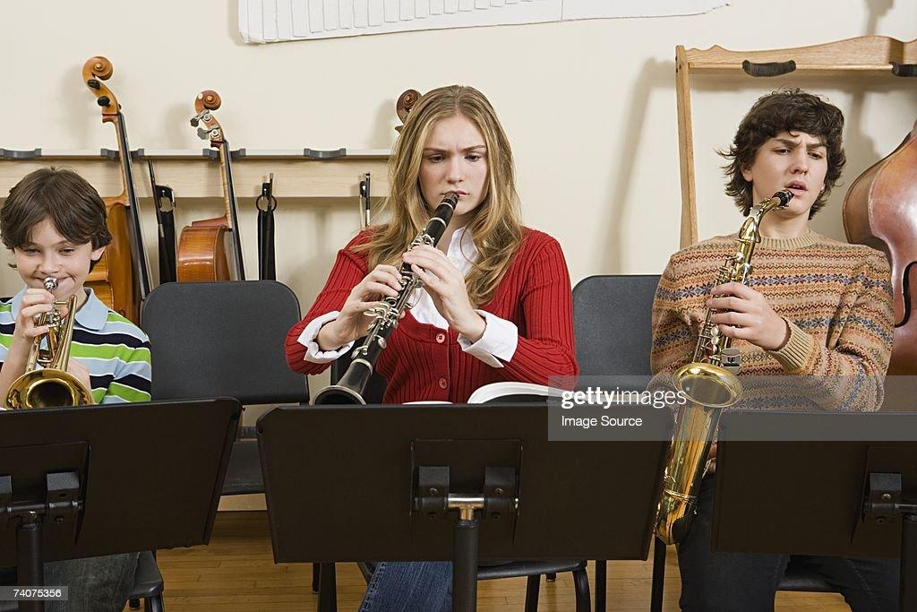 Band practice : Stock Photo