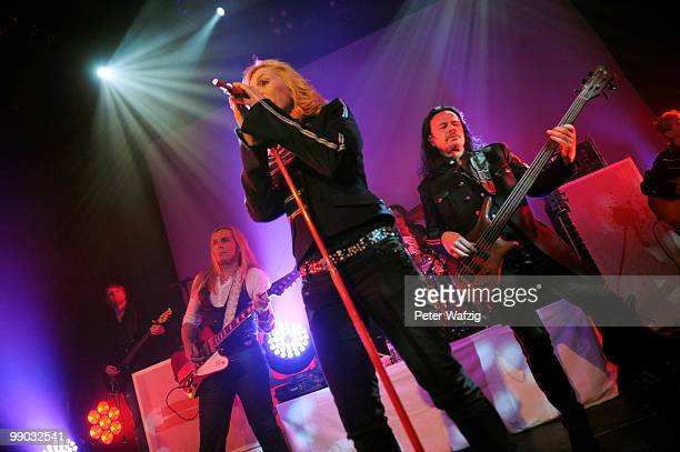 Band Silly perform on stage at the Gloria on May 11 2010 in Cologne Germany