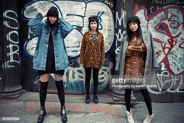 Band The Coathangers is photographed for The Untitled Magazine on March 30 2016 in New York City PUBLISHED IMAGE CREDIT MUST READ Indira Cesarine/The...