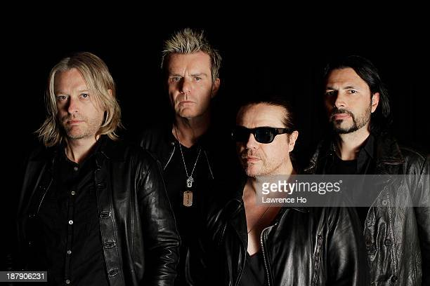 Band The Cult is photographed for Los Angeles Times on May 24 2012 in Los Angeles California PUBLISHED IMAGE CREDIT MUST READ Lawrence Ho/Los Angeles...