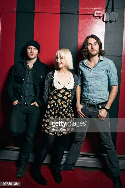 Band The Joy Formidable are photographed for Guttersnipe Magazine in September 2011 in Vancouver British Columbia PUBLISHED IMAGE