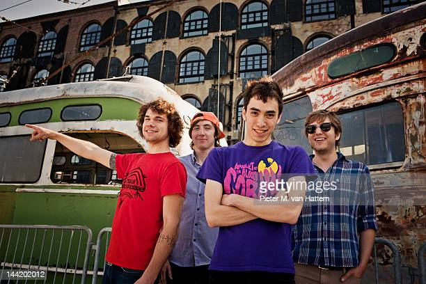 Band Yes Giantess photographed for the June 2009 NME in Brooklyn New York