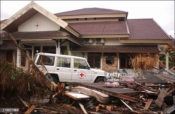 Banda Aceh After The Tsunami On January 12Th 2005 In Indonesia