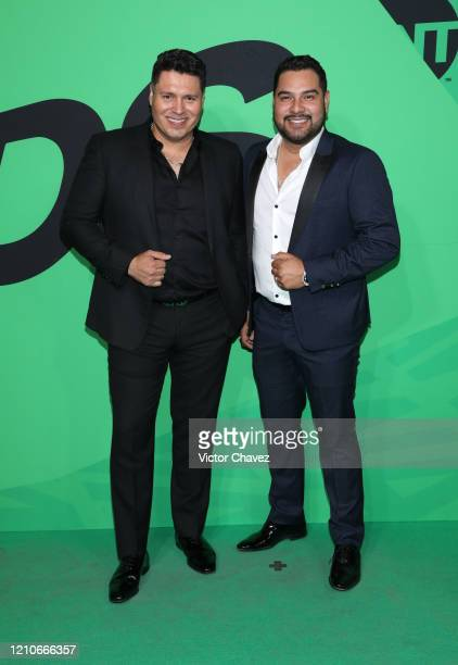 Banda MS attends the 2020 Spotify Awards at the Auditorio Nacional on March 05 2020 in Mexico City Mexico